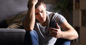 Liūdnas vyras  (nuotr. Shutterstock.com)