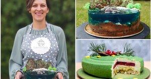 Ingos gaminami tortai išsiskiria ne tik išvaizda, bet ir skoniu (tv3.lt fotomontažas)