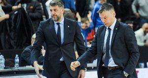 Darius Maskoliūnas ir Šarūnas Jasikevičius (nuotr. Fotodiena.lt/Pauliaus Peleckio)