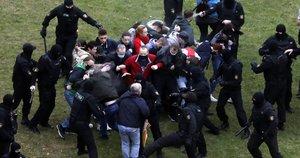 Protestai Baltarusijoje (2020-10-11) (nuotr. SCANPIX)