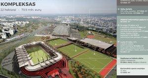 """""""Icor"""" (""""Axis Industries"""") vizualizacija nacionaliniam stadionui"""
