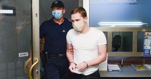 Prieš teismą stojęs teroro aktą siekęs įvykdyti 21-erių lietuvis: visiškai pripažįstu kaltę (nuotr. Fotodiena/Justino Auškelio)