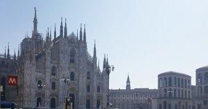 Ištuštėjusio Milano vaizdai (nuotr. asm. archyvo)