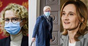 Aušrinė Armonaitė, Ingrida Šimonytė, Viktorija Čmilytė-Nielsen (tv3.lt fotomontažas)