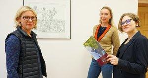 VU bendruomenės reikalų prorektorė Birutė Švedaitė-Sakalauskė (kairėje), lygių galimybių koordinatorės Lina Garbenčiūtė ir Rūta Ruolytė-Verschoore. Aurelijos Babinskienės nuotr.