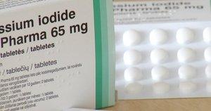 Jodo tabletės (nuotr. stop kadras)