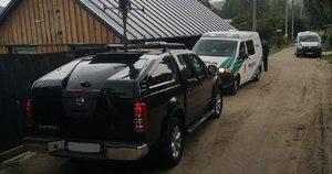 Kauno policija aptiko Vokietijoje pavogtą automobilį (nuotr. Policijos)