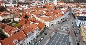 Vilniuje tuščia (nuotr. tv3.lt)