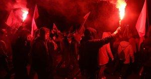 Lenkija šventė šimtmetį: šventės neužgožė net ir vidiniai nesutarimai (nuotr. SCANPIX)