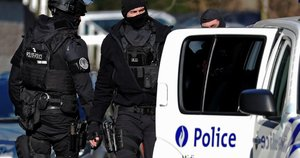 Policija Briuselyje (nuotr. SCANPIX)
