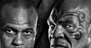 Roy'us Jonesas ir Mike'as Tysonas. (nuotr. Organizatorių)