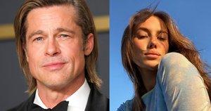 Bradas Pittas ir Nicole Poturalski (nuotr. SCANPIX) tv3.lt fotomontažas