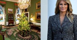 Melania Trump parodė, kaip papuošė Baltuosius rūmus (nuotr. SCANPIX)