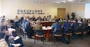Trišalės tarybos posėdis (nuotr. Organizatorių)