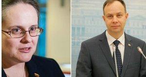 A. Veryga, A. Širinskienė, R. Karbauskis