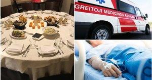 Švenčių stalas, ligoninė (tv3.lt fotomontažas)