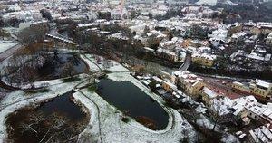 Sniegas Vilniuje (nuotr. Broniaus Jablonsko)