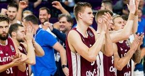 Latvijos krepšinio rinktinė (nuotr. SCANPIX)