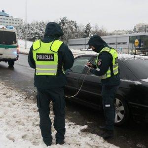 Vilniuje judrioje gatvėje BMW partrenkė senutę