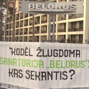 """Baltarusiškos sanatorijos darbuotojai nesuvokia sankcijų: """"Mes čia reabilituojame vaikus"""""""