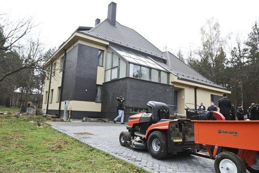 Premjero rezidencija Turniškėse (nuotr. Fotodiena.lt/Roberto Dačkaus)