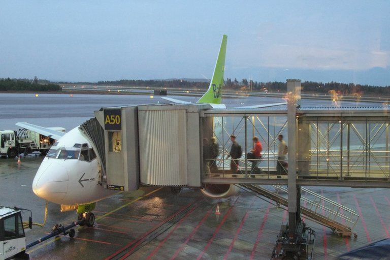 """Air Baltic"" (Fotobankas)"