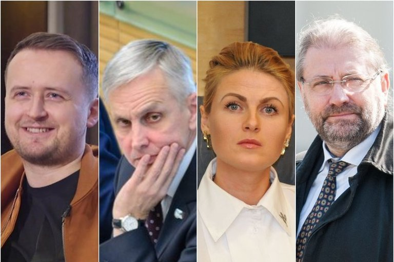 Mantas Katleris, Povilas Urbšys, Greta Kildišienė, Rytis Račkauskas (nuotr. tv3.lt)