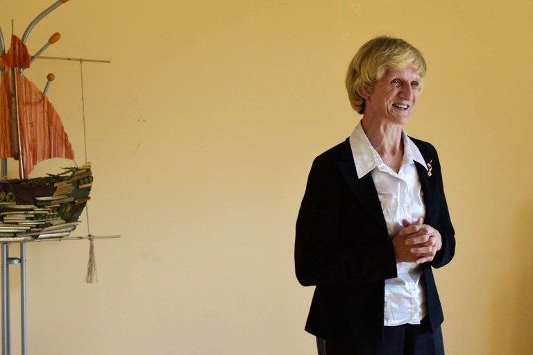 Molėtų krašto žmonių su negalia sąjungos vadovė Marytė Baliūnaitė. Asmeninio archyvo nuotr.