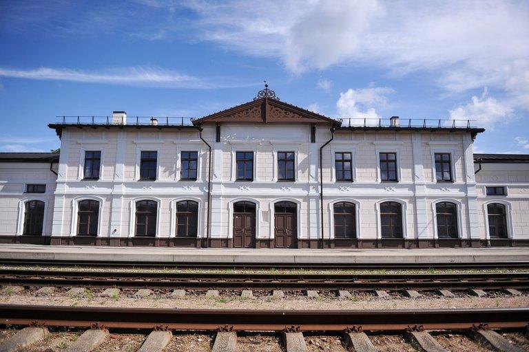 Geležinkelio stotis (nuotr. Fotodiena/Žygimanto Gedvilos)