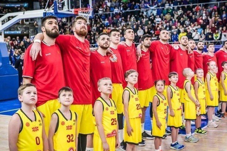 Š. Makedonijos rinktinė (nuotr. FIBA)