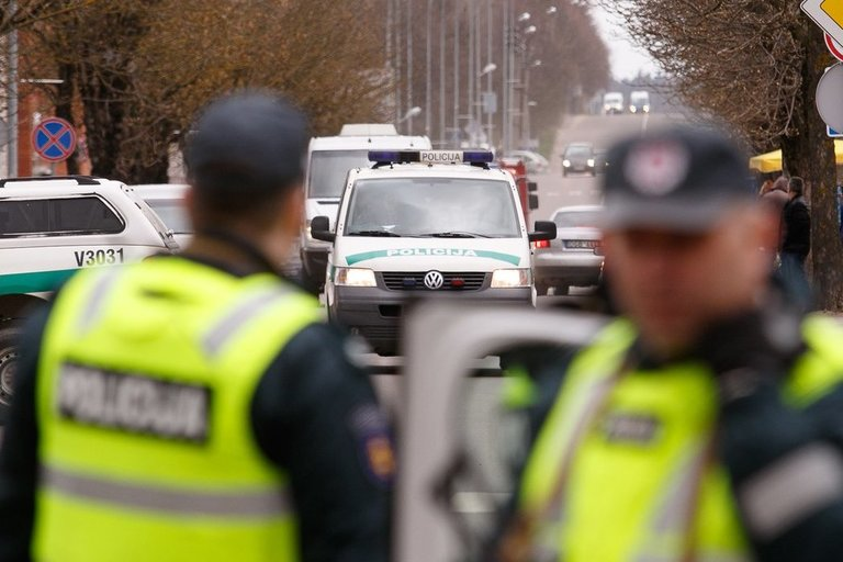 Policijos pratybos (nuotr. Tv3.lt/Ruslano Kondratjevo)