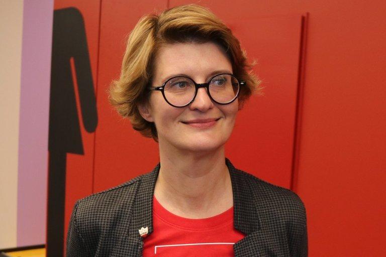 LAB Informacinių išteklių skyriaus vedėja Dalia Balčytytė. Sigitos Inčiūrienės nuotr.