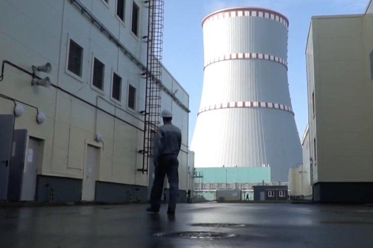 Astravo elektrinė (nuotr. stop kadras)