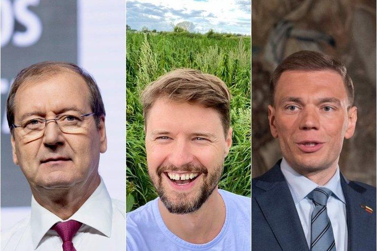 Viktoas Uspaskich, Mykolas Majauskas, Mindaugas Puidokas (tv3.lt fotomontažas)