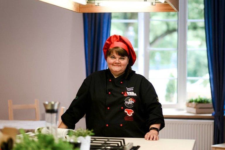 Halina Bovševič prieš keletą metų įkūrė savo kulinarijos studiją. Asmeninio archyvo nuotr.