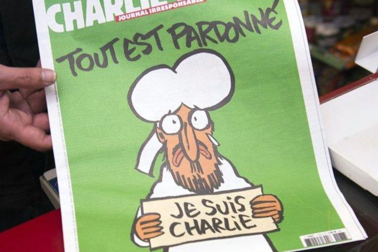 Charlie Hebdo (nuotr. SCANPIX)