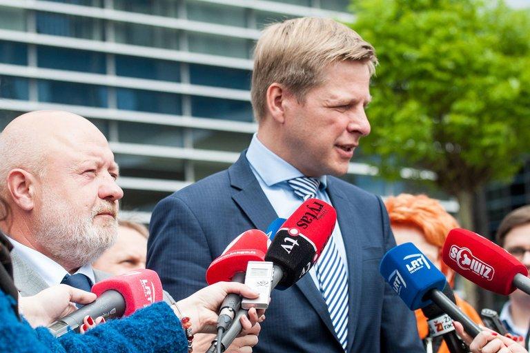 E. Gentvilas ir R. Šimašius (nuotr. Fotodiena.lt)
