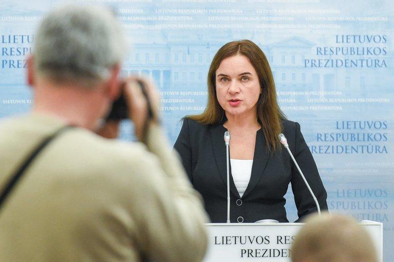 Prezidentės susitikimas su kandidate į teisingumo ministres (nuotr. Fotodiena.lt)