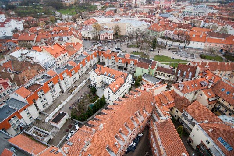 Vilniaus senamiestis (nuotr. Fotodiena/Domantas Pipas)