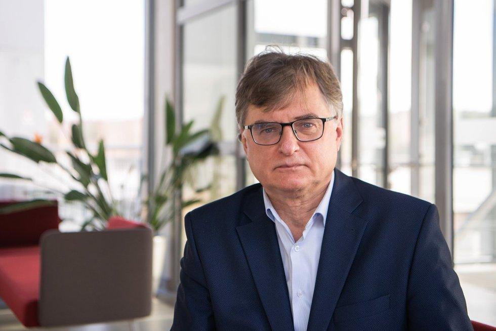 Vilniaus universiteto Gyvybės mokslų centro direktorius Gintaras Valinčius