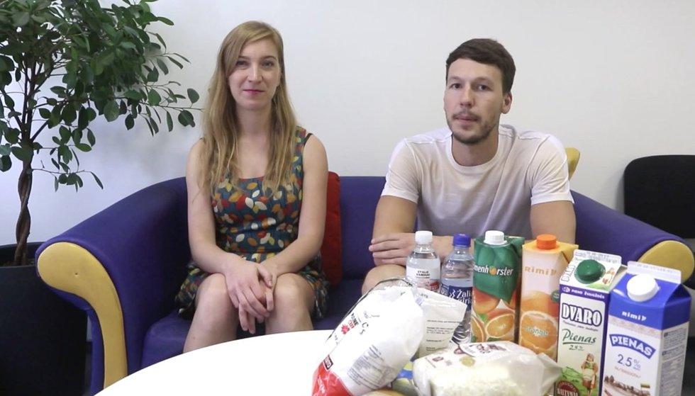 tv3.lt maisto produktų tyrimas (nuotr. tv3.lt)