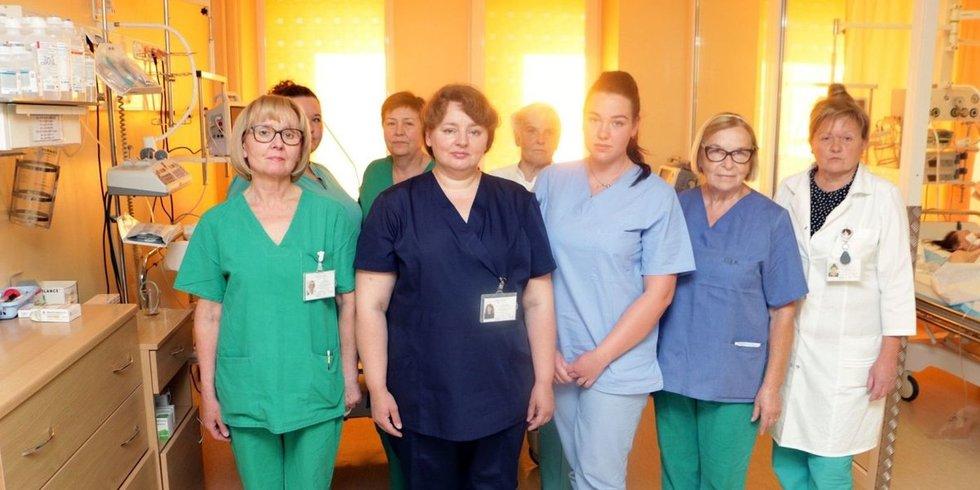 Kėdainių ligoninės reanimacijos skyrius turi naują vadovę (nuotr. Aido Surkevičiaus)