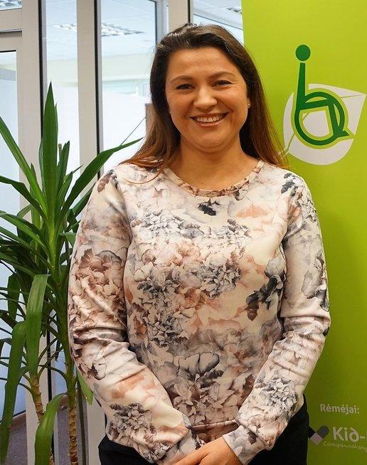 TPNC direktorė Ilona Ogurcova. Aldonos Milieškienės nuotr.