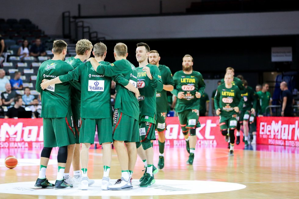 Lietuvos krepšininkai sutrypė Naująją Zelandiją (nuotr. Fotodiena.lt)
