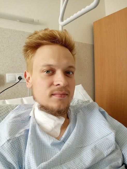 """Aisčiui Žekevičiui šią vasarą transplantuotas inkstas. """"ir nutiko tai"""" archyvo nuotr."""