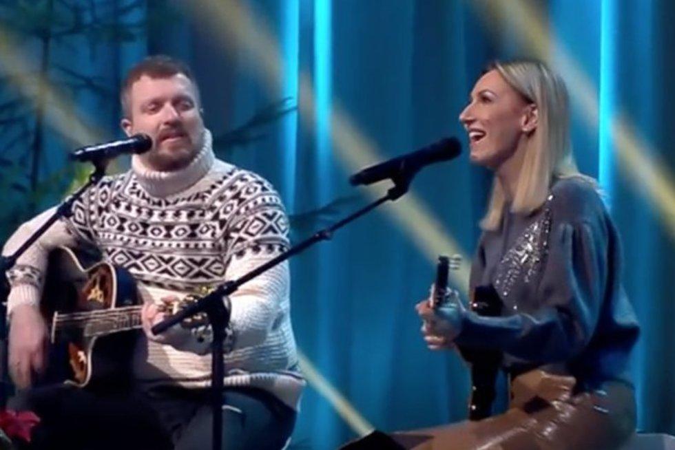 Deivydas ir Katažina Zvonkai (tv3.lt fotomontažas)