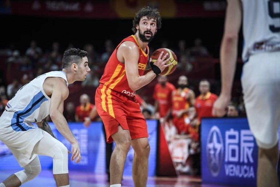 Argentina – Ispanija akimirkos (nuotr. FIBA)