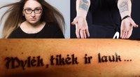 Seimo narių tatuiruotės (nuotr. facebook.com)