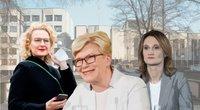 Aušrinė Armonaitė. Ingrida Šimonytė. Viktorija Čmilytė-Nielsen (tv3.lt fotomontažas)