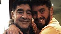 D. Maradona su sūnumi (nuotr. Instagram)